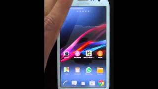 Xperia Z ized v0 9 8b 4 3 ROM for Note 2 N7100 Quick Review