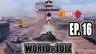 WOT Blitz | WORLD OF LOLZ (EP.16) (FUNNY MOMENTS)