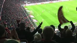ABPFIFF UND FEIER SZENEN|FC Bayern München - Fortuna Düsseldorf 3:3 |24.11.2018