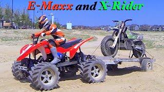 Rc Cwr Traxxas E-maxx And X-rider Bx4