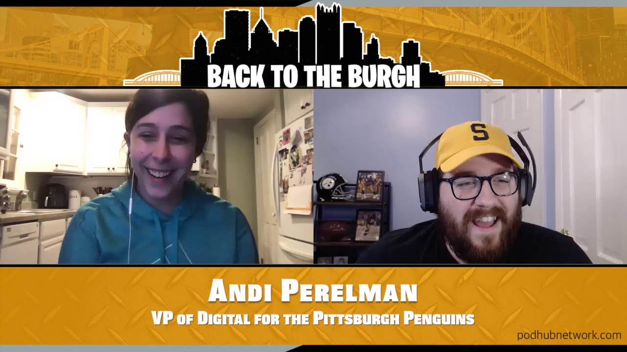 Episode 17 - VP of Digital For The Pittsburgh Penguins Andi Perelman