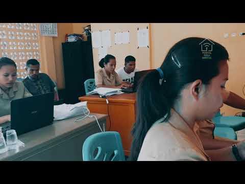Bimtek Portal Desa Digital di Desa Warupele Satu