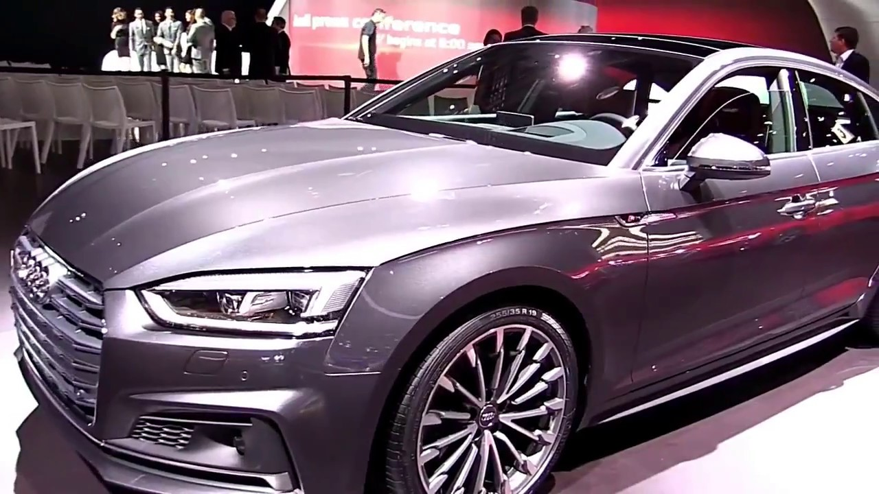 Audi A Sportback US Release First Look Review YouTube - Audi a5 sportback us