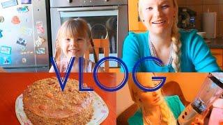 Кухонный Влог: Готовим Торт