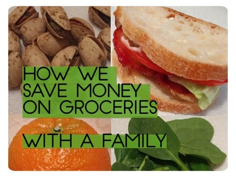 How We Save Money On Groceries. How We Save Money On Our Food Budget As A Family Of Four.
