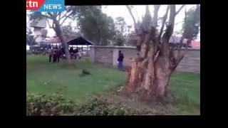 Video shows persons with mental disability jump over Mathare Mental Hospital