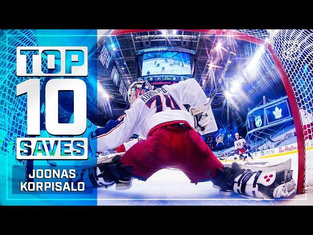 Top 10 Joonas Korpisalo Saves from 2019-20 | NHL