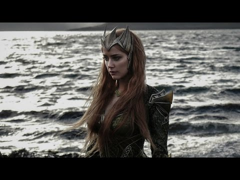 First Look At Amber Heard As Mera In New Justice League
