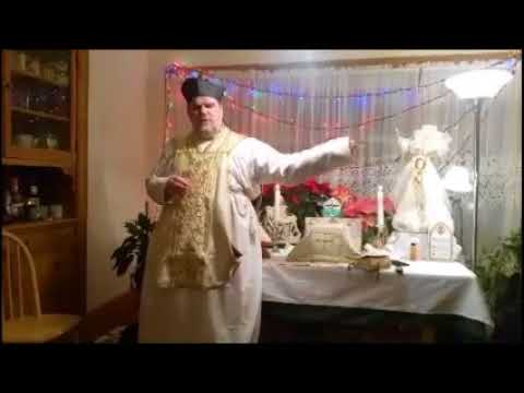 Sermon Padre Pfeiffer Feast Of The Holy Family January 2018