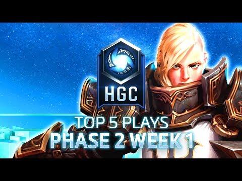 HGC 2018 - Top 5 Plays - Phase 2 - Week 1