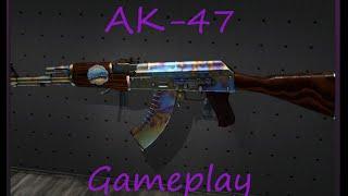 AK-47 | Поверхностная закалка (ПП) Gameplay