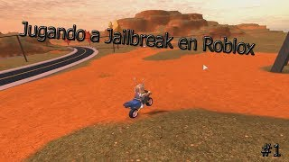 Roblox Jailbreak jugando la NUEVA actualización