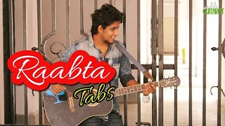 Raabta | Easy Guitar Tabs Lead Lesson For Beginners | Agent Vinod