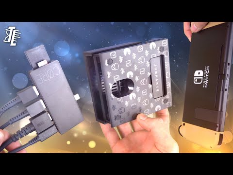 The Most Versatile Nintendo Switch Accessory | Skull And Co JumpGate Switch Dock Review