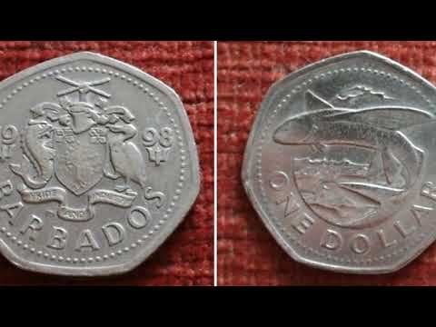 BARBADOS 1998 ONE DOLLAR Coin WORTH?