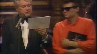 Jakob Hellman   Årets Nykomling Grammisgalan 1989