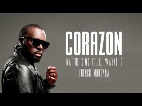 Maître GIMS - Corazon Ft Lil Wayne & French Montana [Lyrics/Paroles]