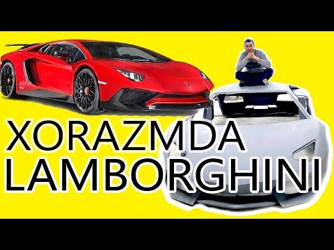 Копия Lamborghini Aventador в Узбекистане. Самодельный Ламборгини