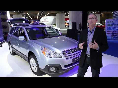 2013 Subaru Outback Walkthrough - 2012 New York Auto Show