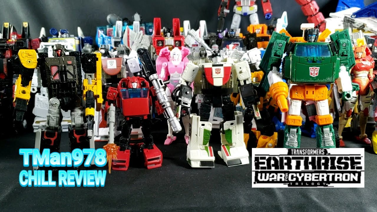 Overview & Top 5 Transformers Earthrise 2020 CHILL Year In Review