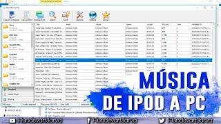 Pasar musica de ipod a pc