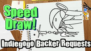 Let's Draw - Indiegogo Backer Requests (Downloadable Pics)