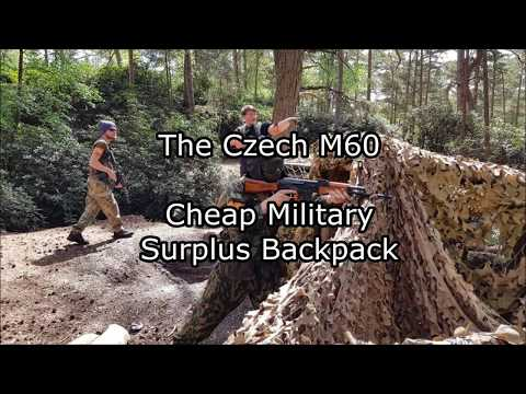 Cheap Military Surplus >> The Czech M60 Cheap Military Surplus Backpack Youtube