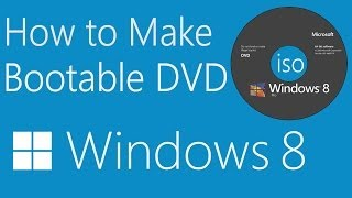 How to Make Windows 8/8.1 Bootable DVD in Easy Way-TMB