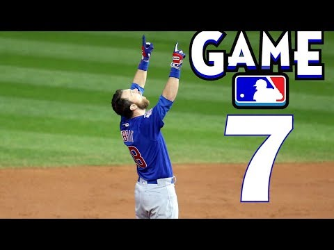 1-YEAR AGO TODAY | CUBS VS INDIANS (GAME 7)