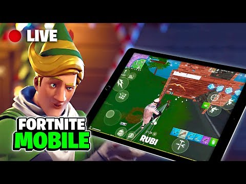 🔴 Fortnite Mobile Live Stream / 1137+ Wins 😏 / iPad 4 finger Claw (Chapter 2 tips & Gameplay) from YouTube · Duration:  3 hours 13 minutes 30 seconds