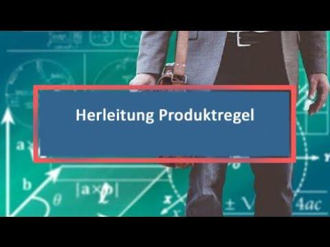 Herleitung Produktregel - YouTube