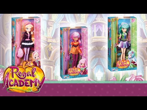 Regal Academy   Let's discover Rose, Astoria, Joy and Vicky dolls!