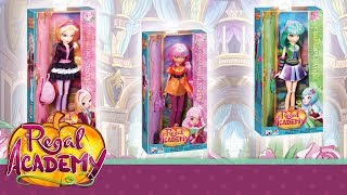 Regal Academy | Let's discover Rose, Astoria, Joy and Vicky dolls!