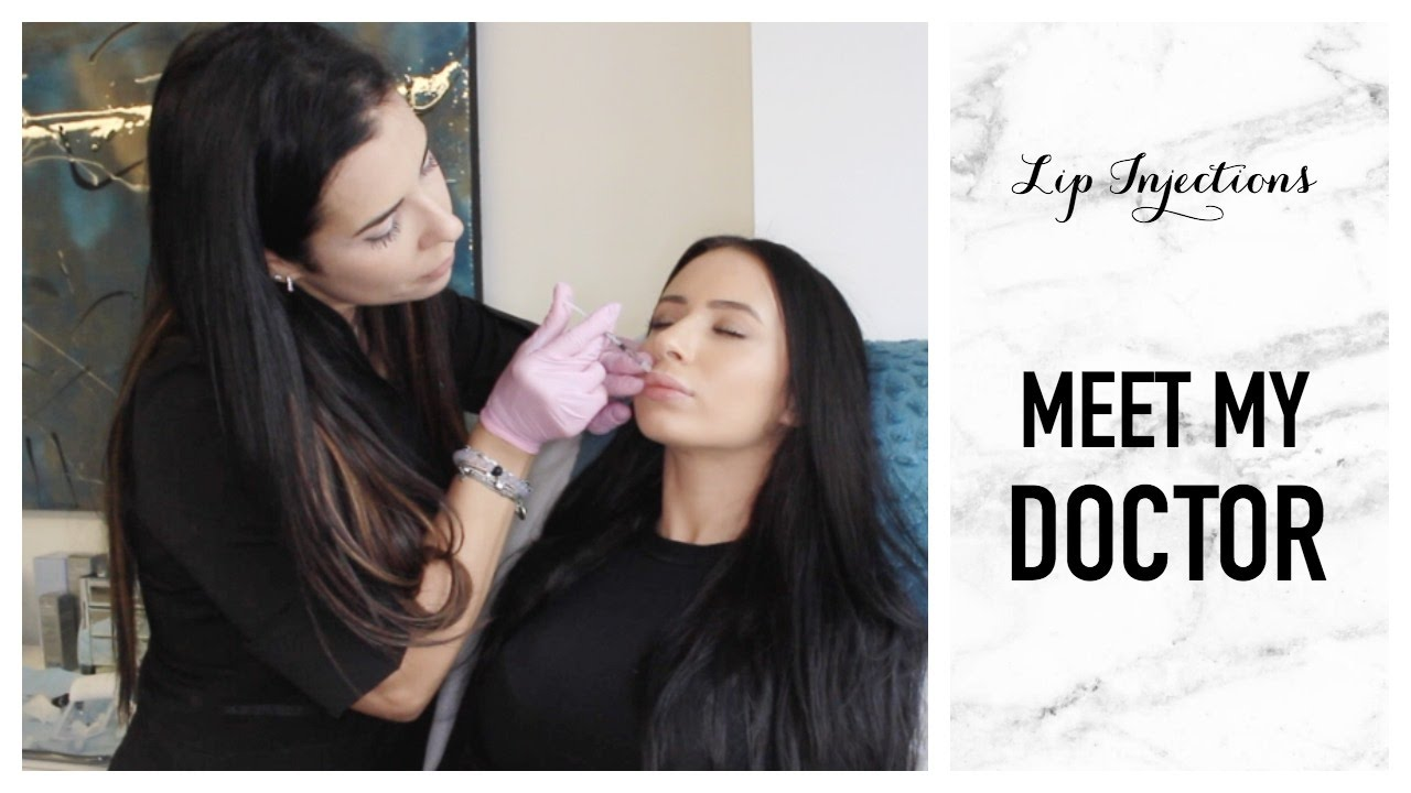 Gabriella Onion Booty throughout getting lip injections & meet my doctor | vlog | toni sevdalis