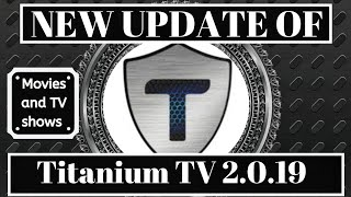How to get the new Titanium TV 2.0.19 (Terrarium TV alternative) August 2019 Video