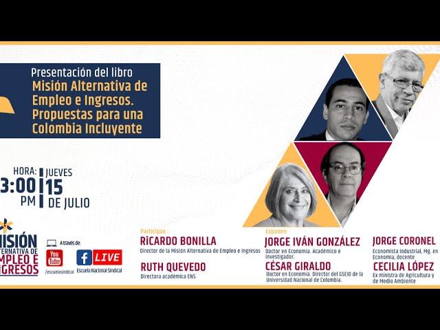 Presentación del libro: MAEI. Propuestas para una Colombia Incluyente