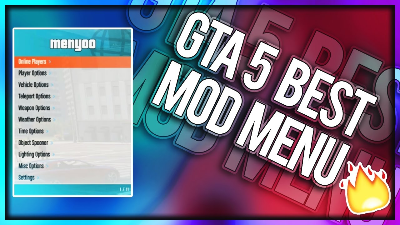 GTA 5 Online - Menyoo Mod Menu (BEST PC TRAINER) || Free Download