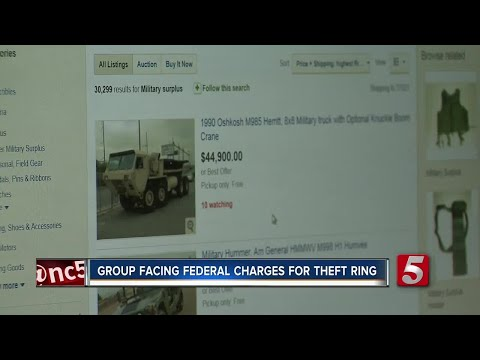 Group Accused Of Stealing Equipment From Fort Campbell, Selling It On EBay