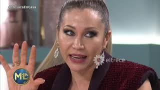 Adabel Guerrero le tiró un palito a Nacha Guevara después de su eliminación del Cantando