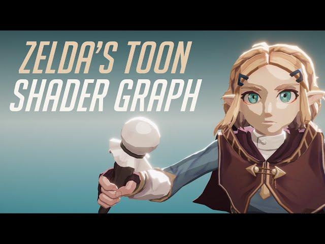 Zelda Breath of The Wild Toon Shader Graph - Unity Tutorial