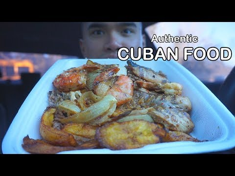 First time eating Authentic CUBAN FOOD