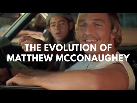 The Evolution of Matthew McConaughey