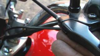 Tutorial Como cambiar el cable de embrague de motos Suzuki Ax 100