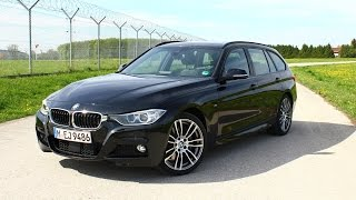 2015 BMW 335xd F31 Touring Test Drive and Review Fahrbericht (german)