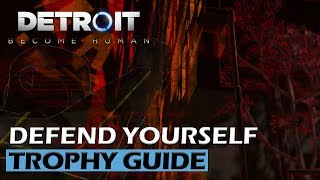 Detroit Become Human - Defend Yourself Trophy Guide / Markus Pushed Leo