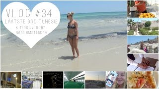 VLOG #34 LAATSTE DAG TUNESIË & TERUGVLUCHT NAAR AMSTERDAM | ThingsJuliaLoves❤️