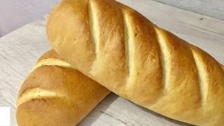 Батон нарезной по ГОСТу. Вкусный хлеб дома.