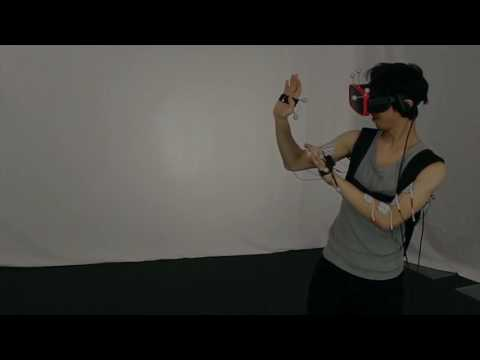 Providing Haptics to Walls & Heavy Objects in Virtual