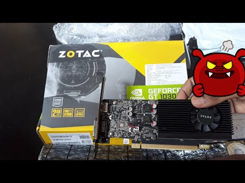 Zotac Nvidia GT 1030 2GB GDDR5 Graphic Card Hindi Unboxing & Review 🔖