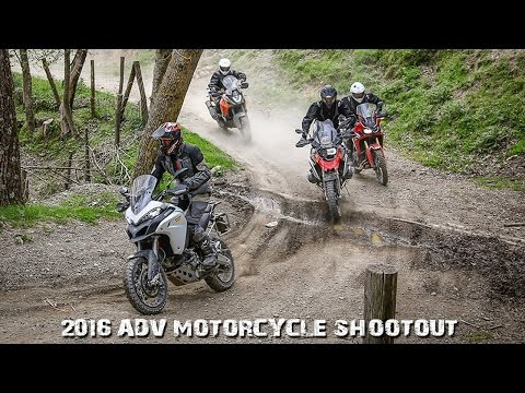 2016 ADV Motorcycle Shootout